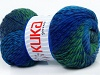 Magic Wool DeLuxe Turquoise Grey Green Blue