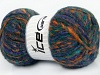 Harmony Mohair Purple Orange Green