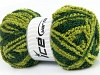 Wool Twister Green Shades