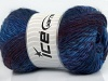 Sultan Wool Purple Maroon Blue Shades