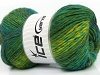 Sultan Wool Green Shades Blue