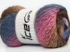 Sultan Wool Pink Brown Shades Blue