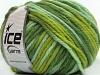 Superwash Wool Bulky Color Green Shades