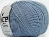 Superwash Wool Indigo Blue