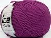 Superwash Wool Purple