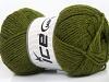 Lux Wool Green Melange