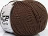 Superwash Wool Dark Brown