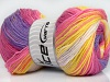 Magic DK Yellow White Pink Orchid Lilac