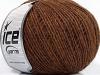 Wool Cord Fine Brown Melange