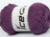 Natural Cotton Purple