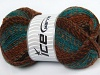 Mosaic Turquoise Camel Brown Shades