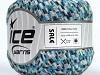 Sale Ribbon White Blue Shades