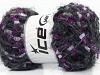 Florence Silver Purple Lilac Black