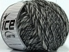 Wool Cord 30 Grey Black