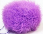 Diameter around 7cm (3&amp) Yarn Thickness Other, Lilac, Brand Ice Yarns, acs-555