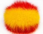 Diameter around 7cm (3&amp) Yellow, Red, Yarn Thickness Other, Brand Ice Yarns, acs-588