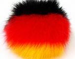 Diameter around 7cm (3&amp) Yellow, Red, Yarn Thickness Other, Brand Ice Yarns, Black, acs-589