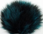 Diameter around 7cm (3&amp) Turquoise, Yarn Thickness Other, Brand Ice Yarns, Black, acs-596