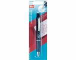with 2 white cartridges 0.9 mm Extrafine cartridge pencil. Ideal for fine markings and when working wih templates; integrated eraser reduces the marking; complete removal through washing Brand PRYM, Yarn Thickness Other, acs-866