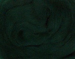 50gr-1.8m (1.76oz-1.97yards) 100% Wool felt Fiber Content 100% Wool, Yarn Thickness Other, Brand Ice Yarns, Dark Green, acs-935