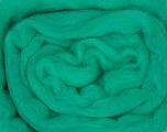 50gr-1.8m (1.76oz-1.97yards) 100% Wool felt Fiber Content 100% Wool, Yarn Thickness Other, Brand ICE, Green, acs-941