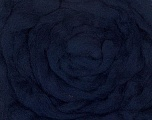 50gr-1.8m (1.76oz-1.97yards) 100% Wool felt Fasergehalt 100% Wolle, Yarn Thickness Other, Brand Ice Yarns, Dark Navy, acs-945