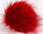 Diameter around 7cm (3&amp) Red, Brand Ice Yarns, acs-1144