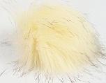 Diameter around 7cm (3&amp) Brand Ice Yarns, Cream, Brown, acs-1154