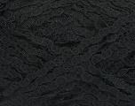 Fiber Content 55% Polyamide, 23% Cotton, 22% Acrylic, Brand Ice Yarns, Black, fnt2-49641