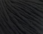 Fiber Content 100% Cotton, Brand Ice Yarns, Black, Yarn Thickness 5 Bulky  Chunky, Craft, Rug, fnt2-50889