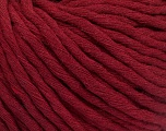 Fiber Content 100% Cotton, Brand ICE, Burgundy, Yarn Thickness 5 Bulky  Chunky, Craft, Rug, fnt2-50893
