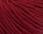 Fiber Content 100% Cotton, Brand Ice Yarns, Burgundy, Yarn Thickness 5 Bulky  Chunky, Craft, Rug, fnt2-50893