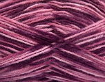 Fiber Content 100% Acrylic, Purple, Pink Shades, Brand Ice Yarns, fnt2-51200