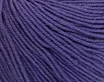 Fiber Content 60% Cotton, 40% Acrylic, Purple, Brand Ice Yarns, Yarn Thickness 2 Fine  Sport, Baby, fnt2-51212