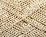 Fiber Content 47% Acrylic, 35% Linen, 18% Polyamide, Brand Ice Yarns, Beige, Yarn Thickness 2 Fine  Sport, Baby, fnt2-51335