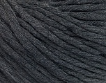 Fiber Content 100% Cotton, Brand Ice Yarns, Anthracite Black, Yarn Thickness 5 Bulky  Chunky, Craft, Rug, fnt2-51419