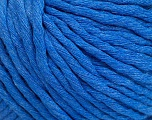 Fiber Content 100% Cotton, Brand Ice Yarns, Blue, Yarn Thickness 5 Bulky  Chunky, Craft, Rug, fnt2-51423