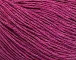 Fiber Content 100% Cotton, Brand Ice Yarns, Fuchsia Melange, fnt2-51481