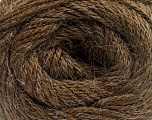 Fiber Content 45% Alpaca, 30% Polyamide, 25% Wool, Brand ICE, Brown, Yarn Thickness 3 Light  DK, Light, Worsted, fnt2-51524
