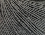 Fiber Content 60% Cotton, 40% Acrylic, Brand Ice Yarns, Grey, Yarn Thickness 2 Fine  Sport, Baby, fnt2-51557
