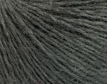 Fiber Content 40% Acrylic, 40% Wool, 20% Polyamide, Brand Ice Yarns, Dark Grey, fnt2-51640