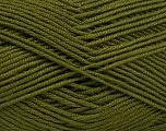 Fiber Content 50% Acrylic, 50% Bamboo, Brand ICE, Dark Green, Yarn Thickness 2 Fine  Sport, Baby, fnt2-51652