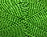 Fiber Content 50% Bamboo, 50% Acrylic, Brand ICE, Green, Yarn Thickness 2 Fine  Sport, Baby, fnt2-51654