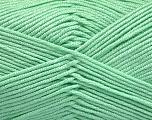 Fiber Content 50% Bamboo, 50% Acrylic, Mint Green, Brand ICE, Yarn Thickness 2 Fine  Sport, Baby, fnt2-51655