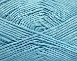 Fiber Content 50% Bamboo, 50% Acrylic, Light Blue, Brand ICE, Yarn Thickness 2 Fine  Sport, Baby, fnt2-51659
