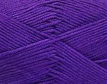 Fiber Content 50% Bamboo, 50% Acrylic, Purple, Brand ICE, Yarn Thickness 2 Fine  Sport, Baby, fnt2-51666