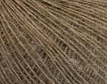 Fiber Content 50% Merino Wool, 25% Alpaca, 25% Acrylic, Light Brown, Brand ICE, Yarn Thickness 2 Fine  Sport, Baby, fnt2-51980