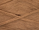 Very thin yarn. It is spinned as two threads. So you will knit as two threads. Yardage information is for only one strand. Fiber Content 100% Acrylic, Light Brown, Brand Ice Yarns, Yarn Thickness 1 SuperFine  Sock, Fingering, Baby, fnt2-52041