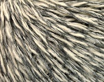 Fiber Content 67% Wool, 5% Angora, 17% Viscose, 11% Polyamide, Brand Ice Yarns, Grey Shades, Cream, fnt2-52158