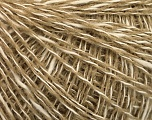 Fiber Content 60% Cotton, 40% Acrylic, White, Brand Ice Yarns, Beige, fnt2-52190
